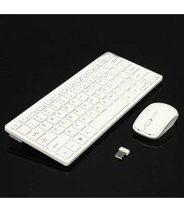 Ensemble Mini Clavier + souris sans fil 2.4Ghz