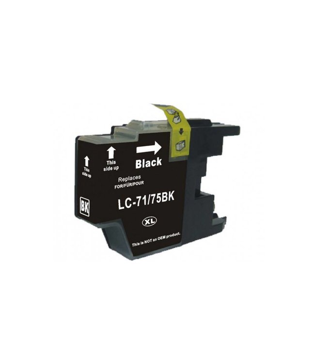 Brother LC75XL BK Compatible