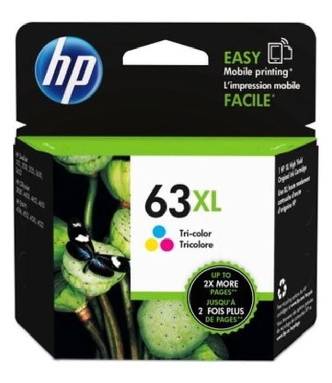 HP63XL Couleur Encre Recyclée