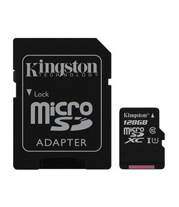 Kingston Canvas Select MicroSDXC+Adaptateur 128Go