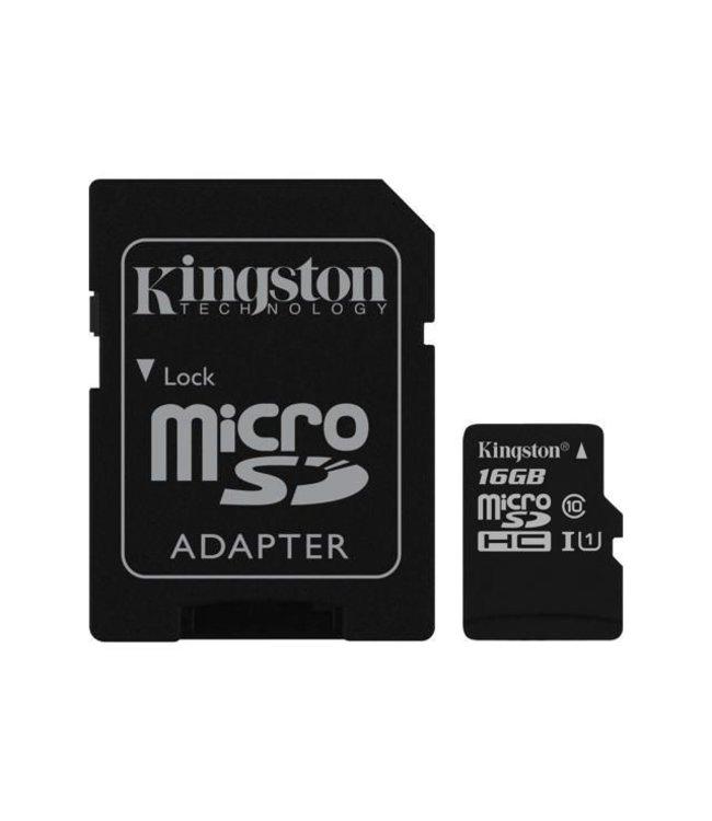 Kingston Kingston Canvas Select MicroSDHC+Adaptateur 16Go