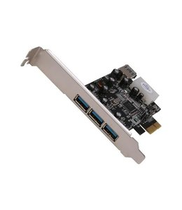 Carte PCIe Vantec 4x USB 3.0 UGT-PC341