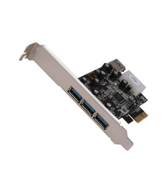 Carte PCIe Vantec 4x USB 3.0 UGT-PC341