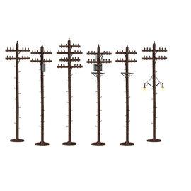 Lionel LNL 6-37939 Telephone Poles