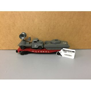 Lionel LIONEL 6803 Flat Car w Tank and Truck