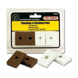Woodland Scenics WLS TT4553 Clean & Finish Pads