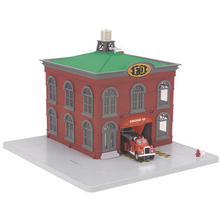 MTH MTH 30-9157 Operating Firehouse-pre-owned