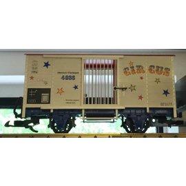LGB LGB 4036 Circus Wagon Car W/Ramp