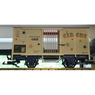 LGB LGB 4036 Circus Wagon Car W/Ramp w box (PRE-OWNED)