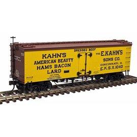 Atlas ATL 20003981 Kahn's 36' Wood Refrigerator car