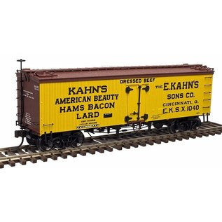Atlas ATL 20003981 Kahn's 36' Wood Refrigerator car