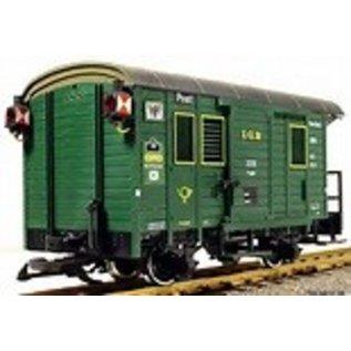 LGB LGB 3019 Postal Wagon Lighted - PRE-OWNED