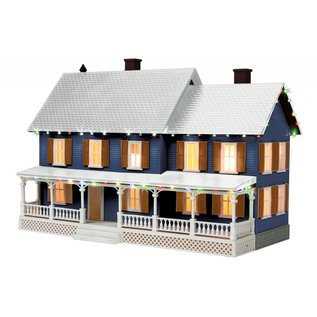MTH MTH 30-90546 Country House w/Op. Christmas Lights