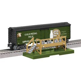Lionel LIONEL 6-83252 Gold Medal Operating Milk Car