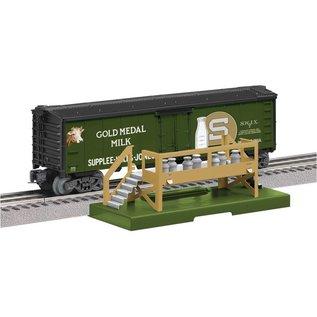 Lionel LIONEL 6-83252 Gold Medal Operating Milk Car