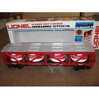 Lionel LNL 6-9193 Budweiser Vat Car
