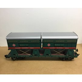 Aristo Craft ART REA 46501 Piggy Back Flat Car W/ 2 Trailers