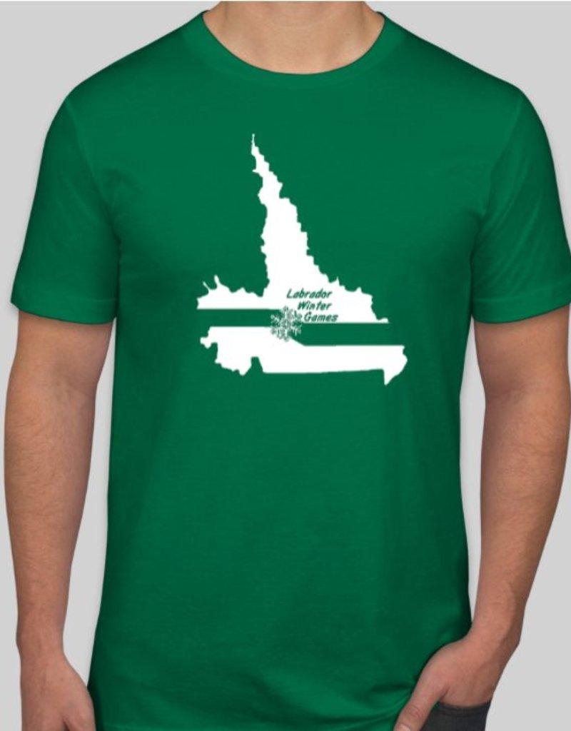 Minipi Labrador Winter Games Jersey T-Shirt