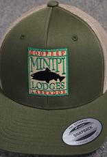 Minipi Minipi Outfitters Trucker OD Green / Coyote