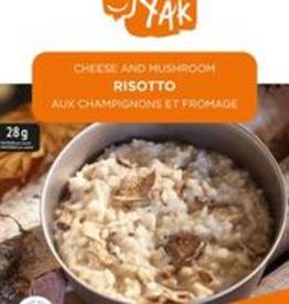 Happy Yak Cheese And Mushroom Risotto