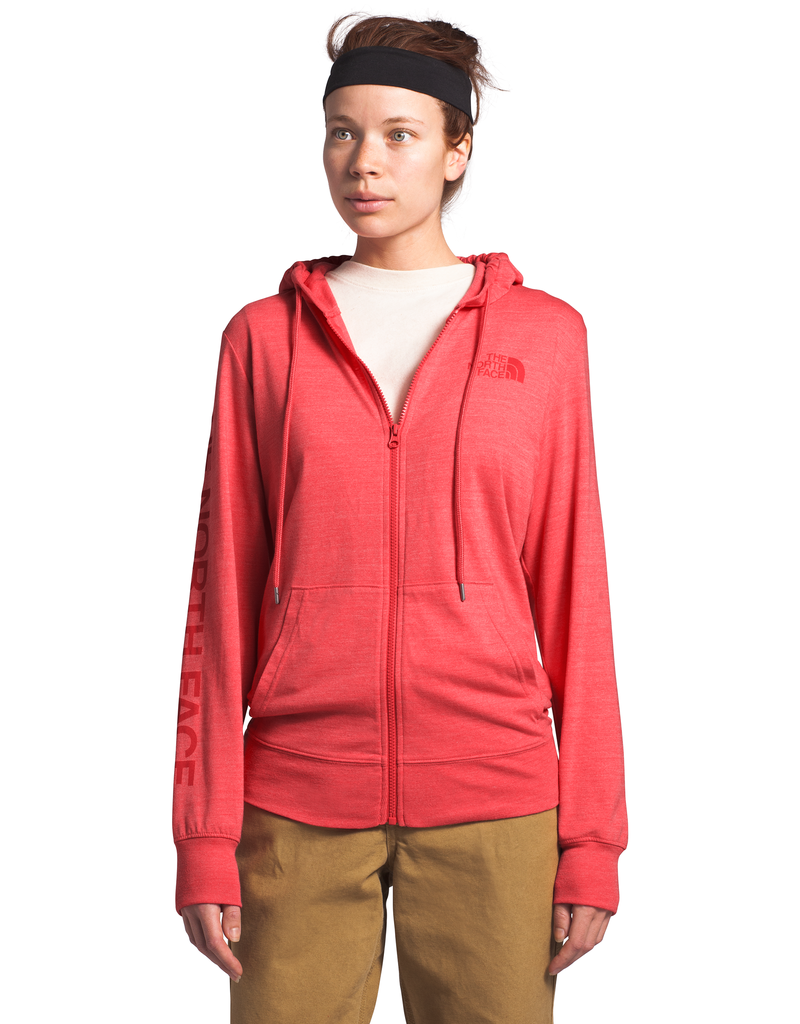 The North Face W LW TRIBLEND FULL ZIP HOODIE