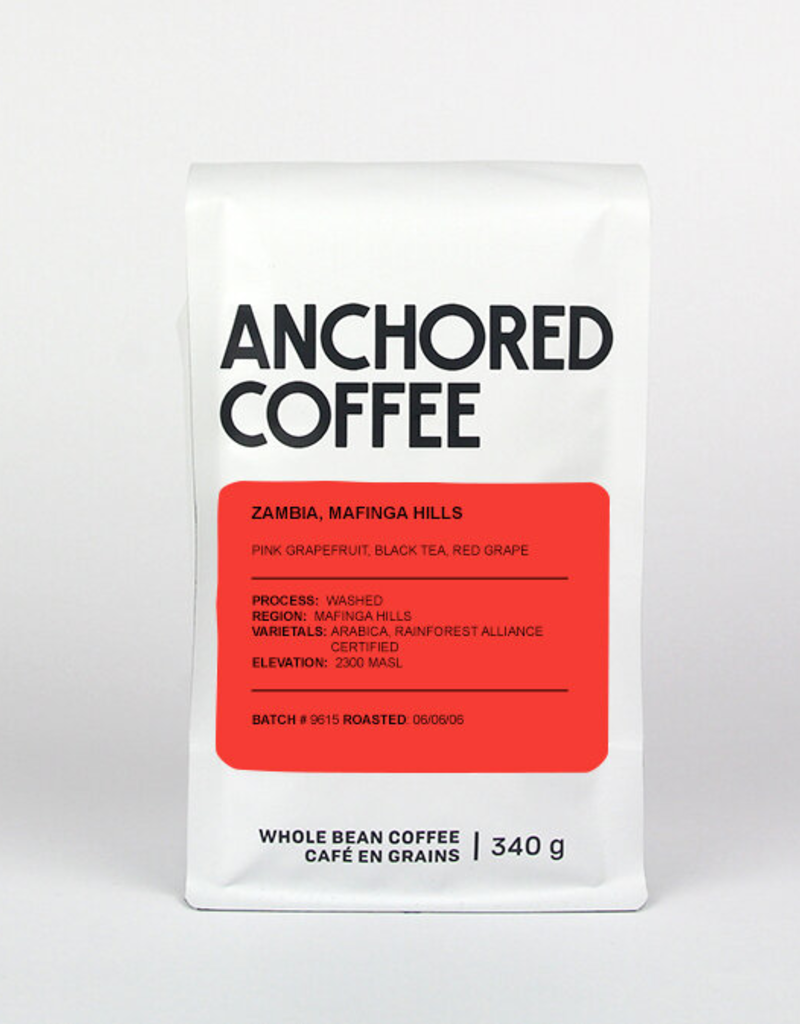 Anchored Coffee. Mafinga Hills Expresso 12oz
