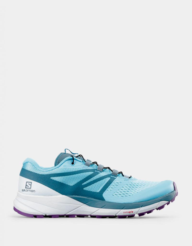 Salomon SENSE RIDE 2 W CYAN BLUE/Mallar
