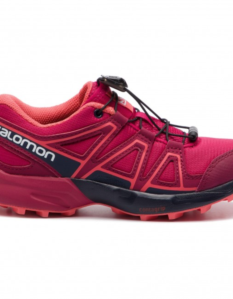 Salomon SHOES SPEEDCROSS J Cerise/Navy Blaze/Dub