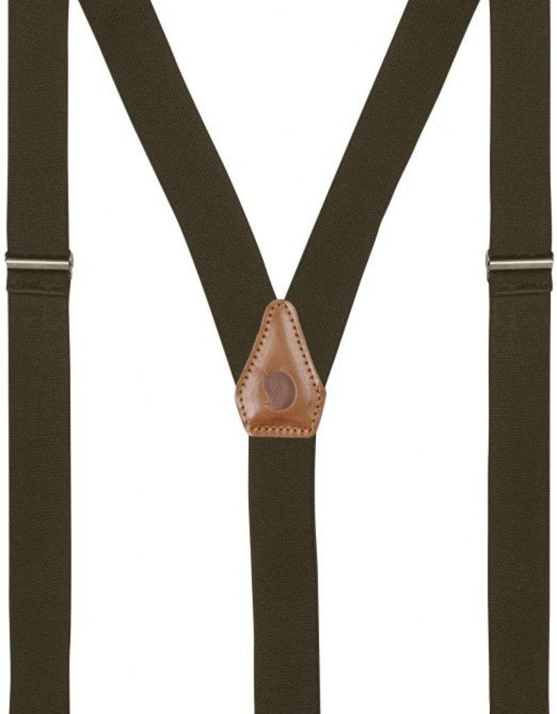Fjall Raven Sarek Clip Suspenders Dark Olive
