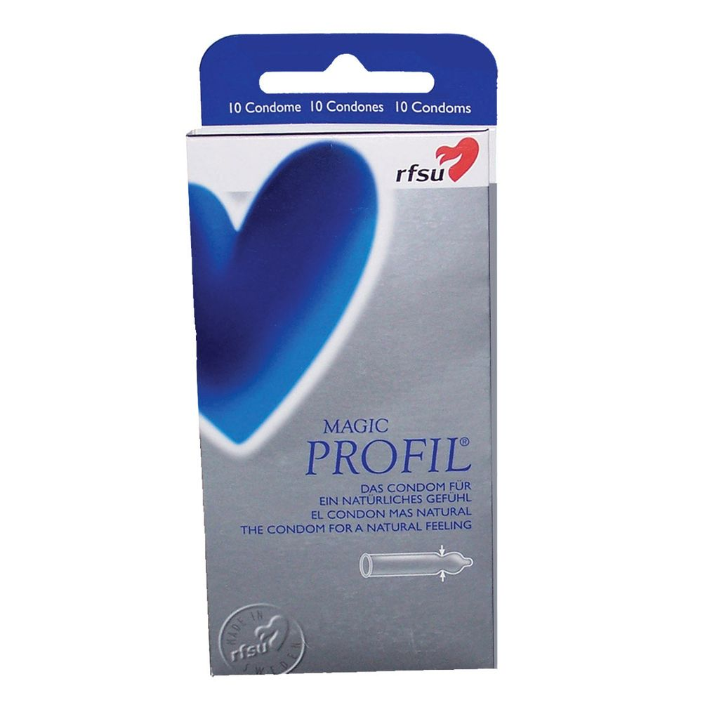 RFSU RFSU Profil Condoms 10-Pack