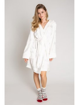 PJ Salvage PJ Salvage Robe with Foil Stars