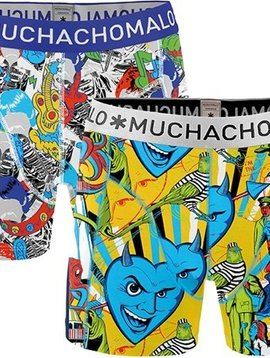 Muchachomalo Muchachomalo Mens Short Circle - 2 Pack