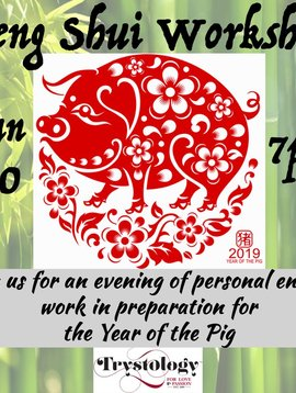 Feng Shui Class with Melissa Yamaguchi January 30th, 2019