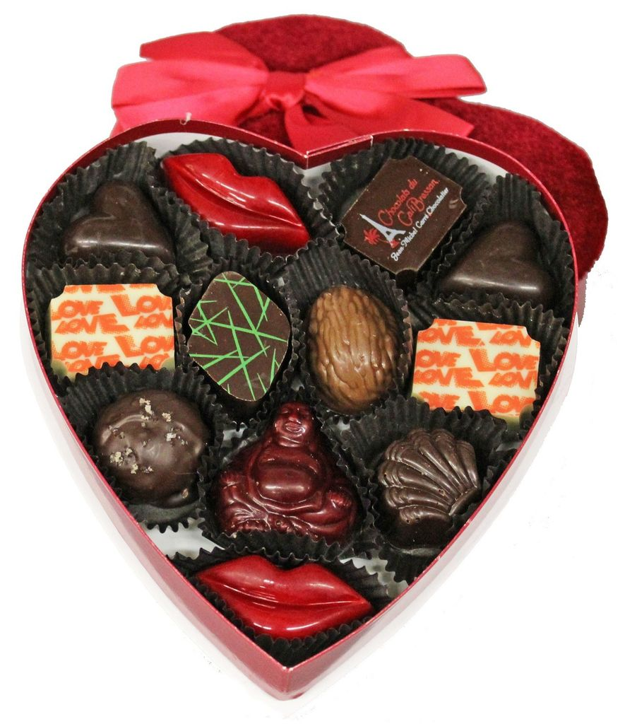 Chocolats Du CaliBressan Chocolats du Calibressan Amour Gift Box, 12pc