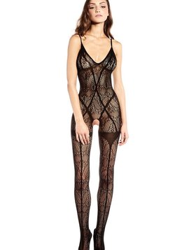 Hauty Hauty Sleeveless Hosiery Bodystocking