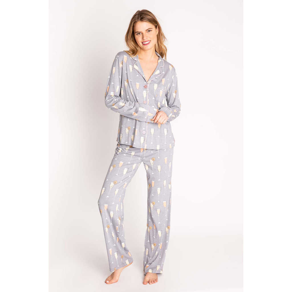 PJ Salvage PJ Salvage PJ Set with Mask