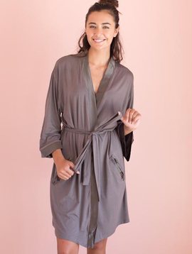 Faceplant Dreams Faceplant Dreams Bamboo Kimono Robe