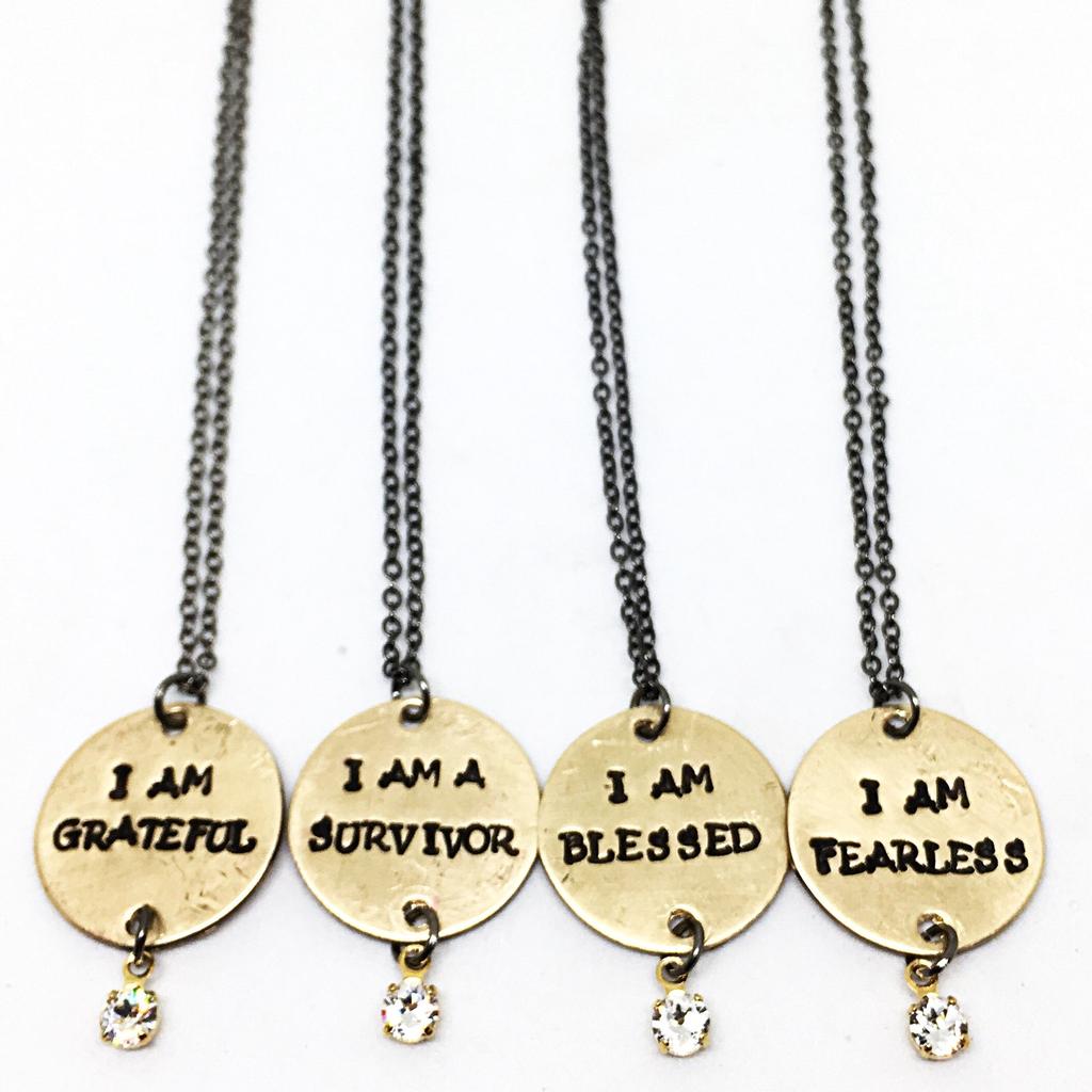 Buffalo Girls Salvage Buffalo Girls Salvage Necklace - I AM