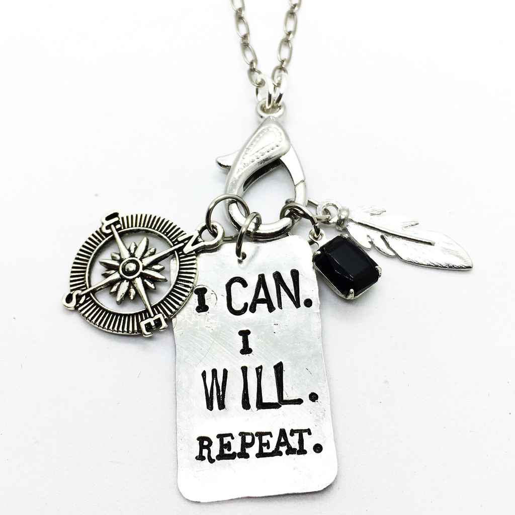 Buffalo Girls Salvage Buffalo Girls Salvage I Can I Will Necklace