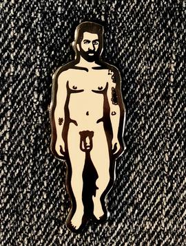 Trevor Wayne Trevor Wayne Nude Dude 2 Lapel Pin