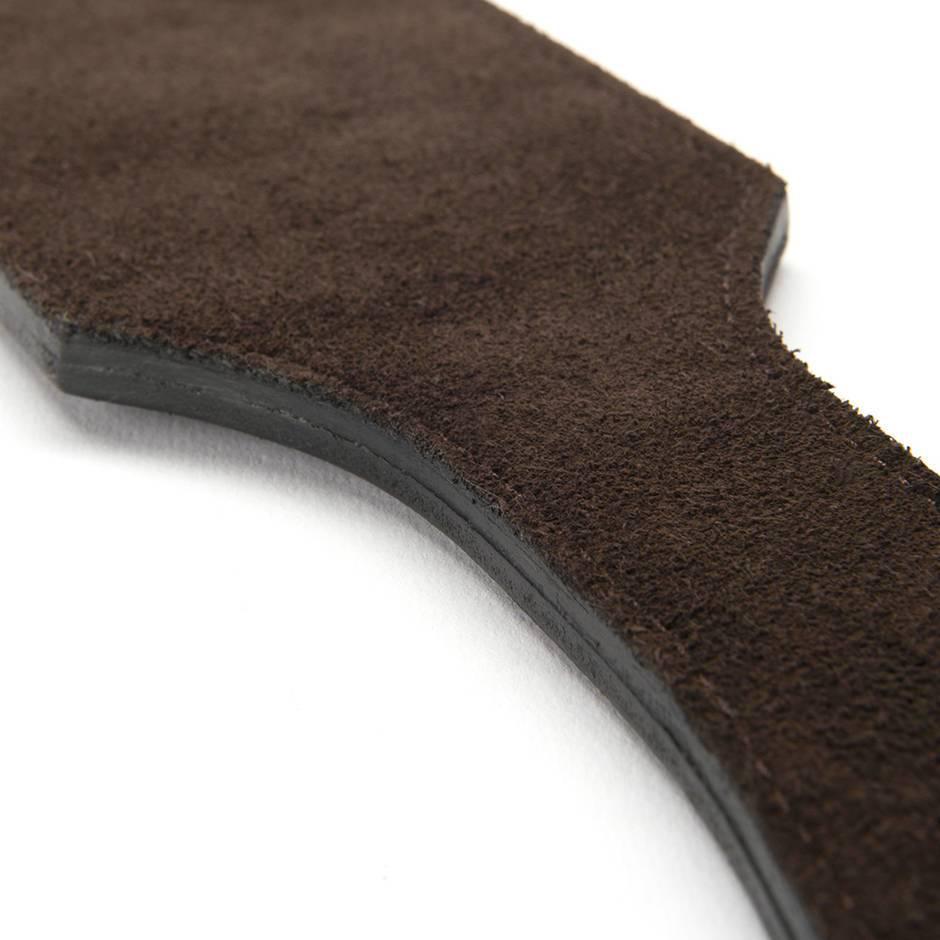 Coco De Mer Coco de Mer Leather Paddle