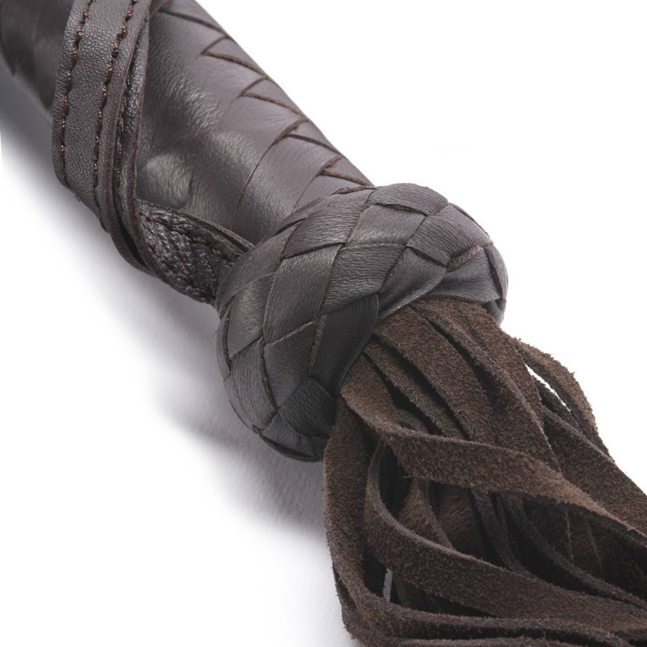 Coco De Mer Coco de Mer Leather Flogger, Brown