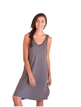 Faceplant Dreams Faceplant Dreams Bamboo V-Neck Nightshirt