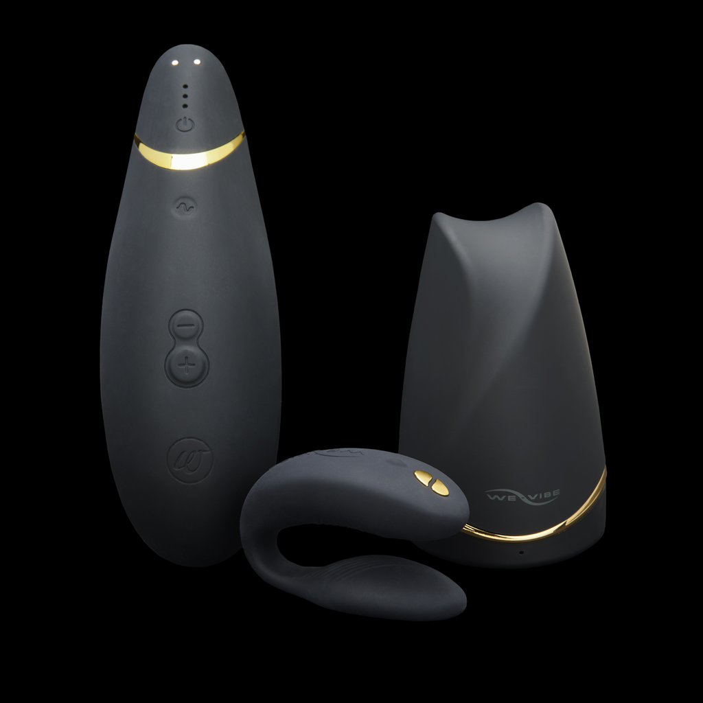 We-Vibe We-Vibe Tease and Please Collection, Black Collection