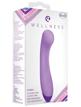 Wellness G Ball, Purple, 7""