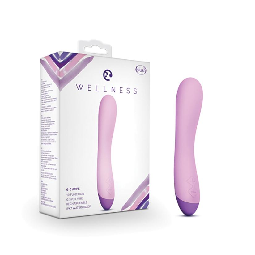 """Wellness G Curve, Purple, 8"""""""