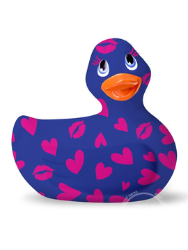 I Rub My Duckie I Rub My Duckie Romance 2.0 Classic Waterproof Vibrating Massager Blue
