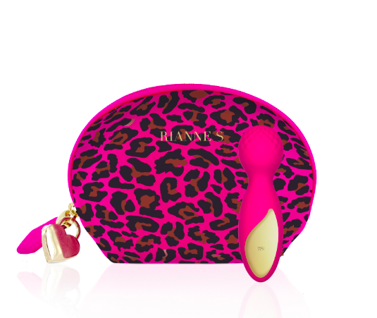 Rianne S Rianne S Lovely Leopard Mini Wand Massager
