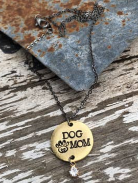 Buffalo Girls Salvage Buffalo Girls Salvage Necklace - Dog Mom