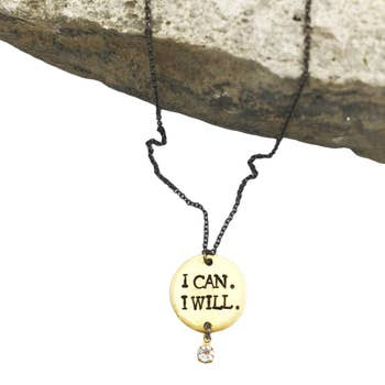 Buffalo Girls Salvage Buffalo Girls Salvage Necklace - I Can I Will